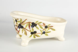 Soap Holder Bathtub Sloe Berry
