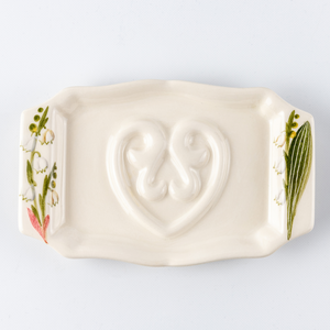 Soap Holder Flat Lily of the Valley