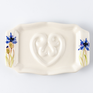 Soap Holder Flat Cornflower