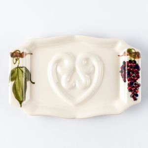Soap Holder Flat Wine Grape