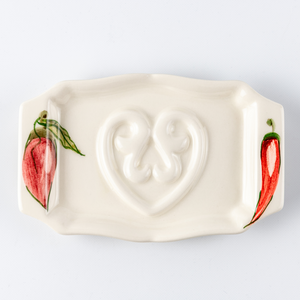 Soap Holder Flat Paprika