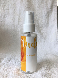 Clean Oil by Mude Haircare