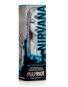 Nirvana (neon blue) by Pulp Riot