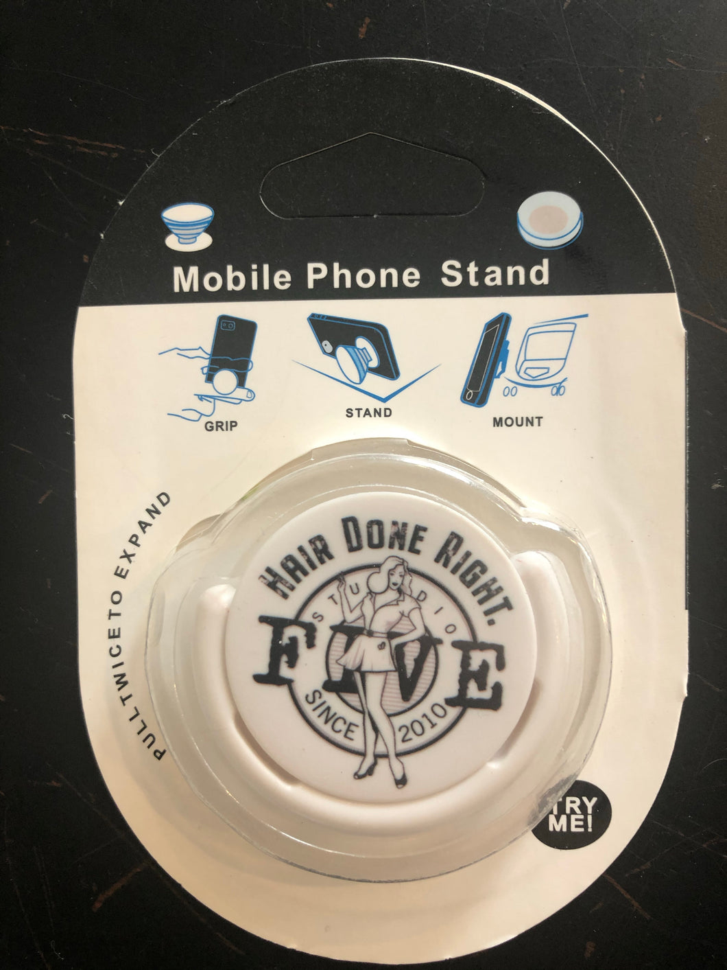 Mobile phone holder (pop socket)