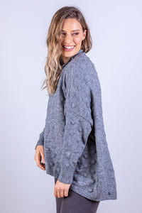 ZARA JUMPER GREY