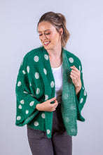 Load image into Gallery viewer, DOTTI CARDIGAN GREEN