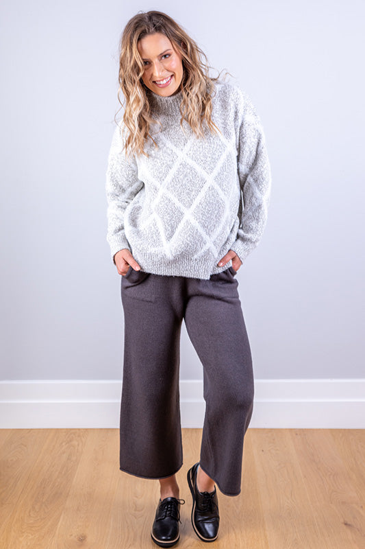 FREJA JUMPER LIGHT GREY