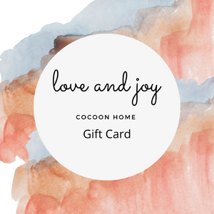 COCOON HOME Gift Card