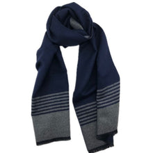 Load image into Gallery viewer, Barnes Scarf  Navy