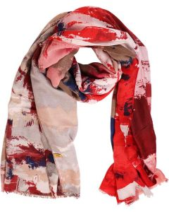 Carla Scarf Red