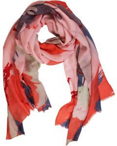 Francais Scarf Pink Red