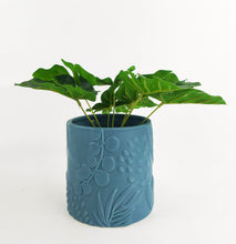 Load image into Gallery viewer, Foliage Planter Blue