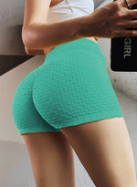 Load image into Gallery viewer, Butt Lifting Stretchy Ruched Shorts