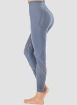 Load image into Gallery viewer, Irregular Hollow Out High Rise Yoga Pants-JustFittoo