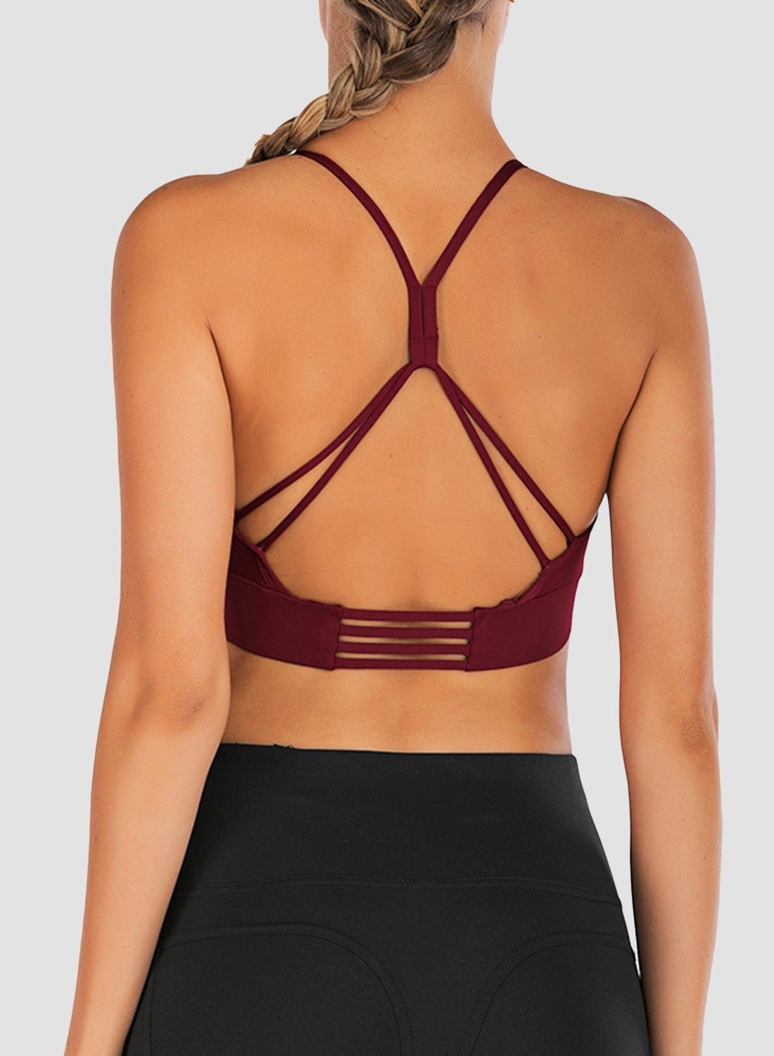 Low-intensity Exercise Back Beautifying Bra