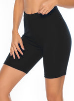 Load image into Gallery viewer, Women's Comfy Solid Color Yoga Shorts