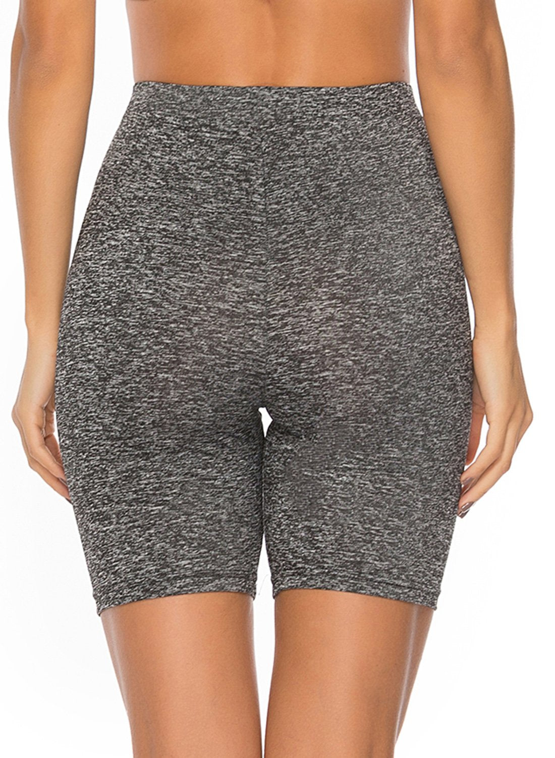 Solid Color Comfy Yoga Shorts