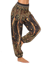 Load image into Gallery viewer, Bohemian Palazzo Beach Women Casual Yoga Pants