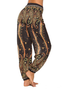 Bohemian Palazzo Beach Women Casual Yoga Pants