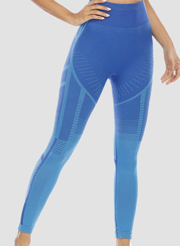 Women Seamless Body Shaping Sports Leggings