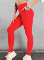 Load image into Gallery viewer, Tummy Control Athletic Stretch Leggings-JustFittoo