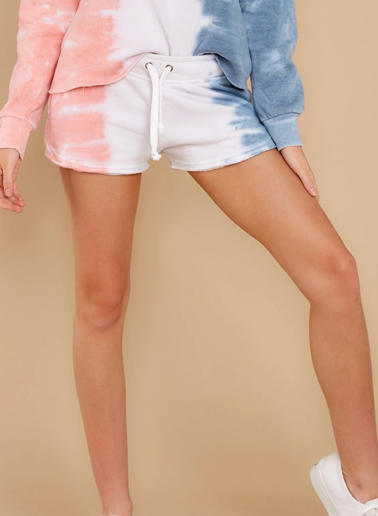 Women Soft Tie-dyed Casual Shorts