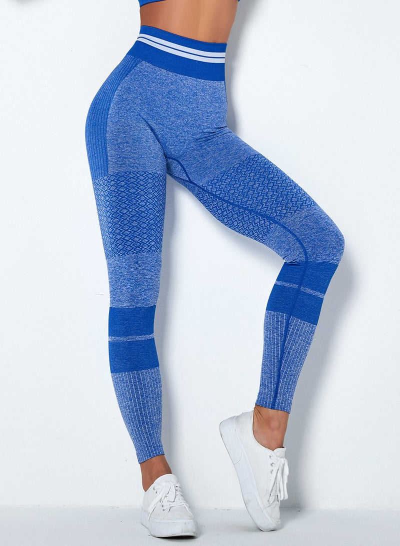 Popular Solid Color Seamless Women Sports Leggings