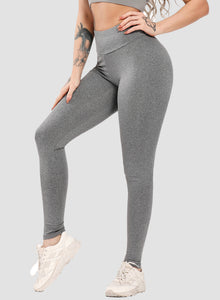 Scrunch Booty High Elastic Ultra Comfy Leggings-JustFittoo