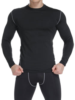 Man's Long Sleeve Training Workout T-shirts
