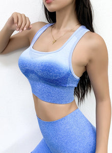 Two-tone Seamless Breathable Top