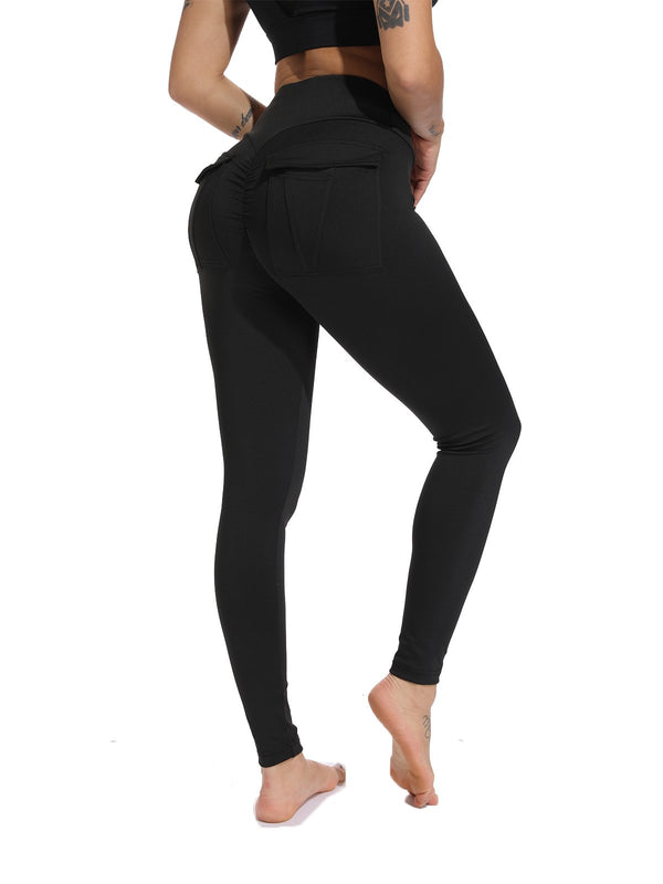 High Waist Training Workout Yoga Pants-JustFittoo