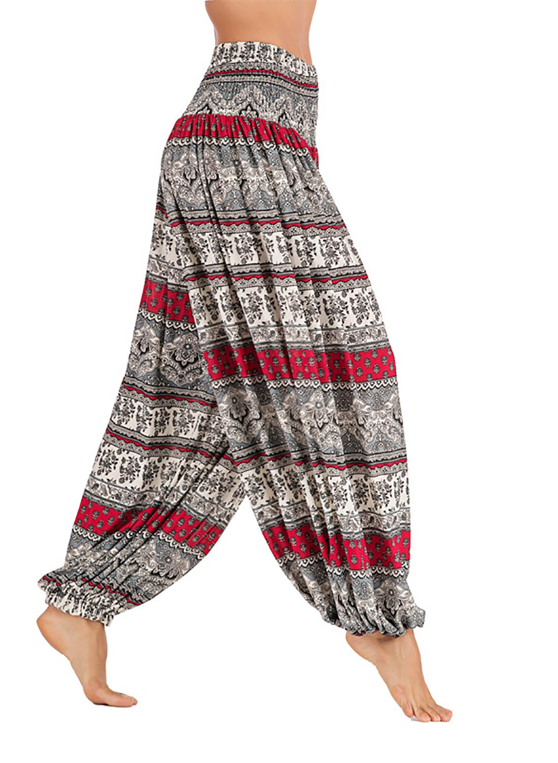Plus Size Casual Pants Bohemia Bloomers