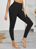 Load image into Gallery viewer, Squat Proof Solid Color Women Sports Leggings-JustFittoo