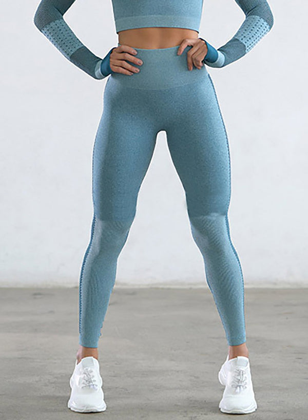 Squat Proof Seamless Hollow Out Women Sport Legging-JustFittoo