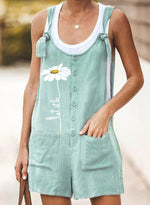 Load image into Gallery viewer, Women Casual Cotton Jumpsuits