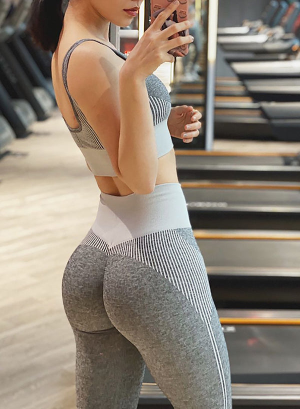 Seamless High Quality Women Fitness Sports Leggings-JustFittoo