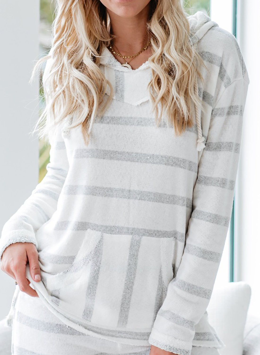 Super Comfy Women Leisure Hoodie with Short Set