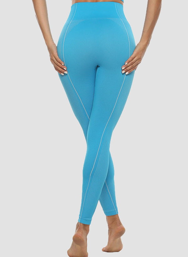 Multiple Solid Color Women Summer Seamless Sports Leggings