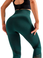 Load image into Gallery viewer, Women's Hollow Out Breathable Seamless Yoga Pants-JustFittoo