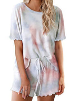 Load image into Gallery viewer, Summer Casual Tie Dyed T Shirt and Short Set