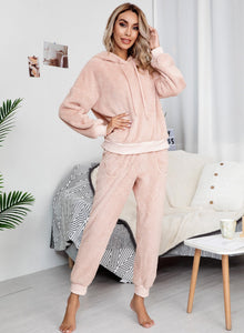 Women Plus Size Multiple Color Home Casual Sets