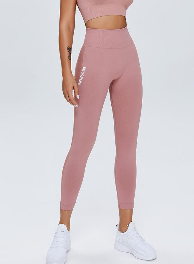 Comfy Women Soft Solid Sports Leggings-JustFittoo