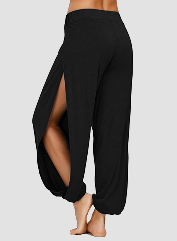 Thigh-high Slit Skin-friendly Bloomers