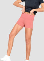 Load image into Gallery viewer, Knitted Rib Waistband High Elastic Shorts