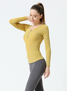 Body Shaping Women Yoga Shirts