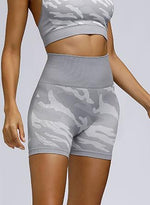 Load image into Gallery viewer, Squat Proof Camouflage Seamless Women Sport Short