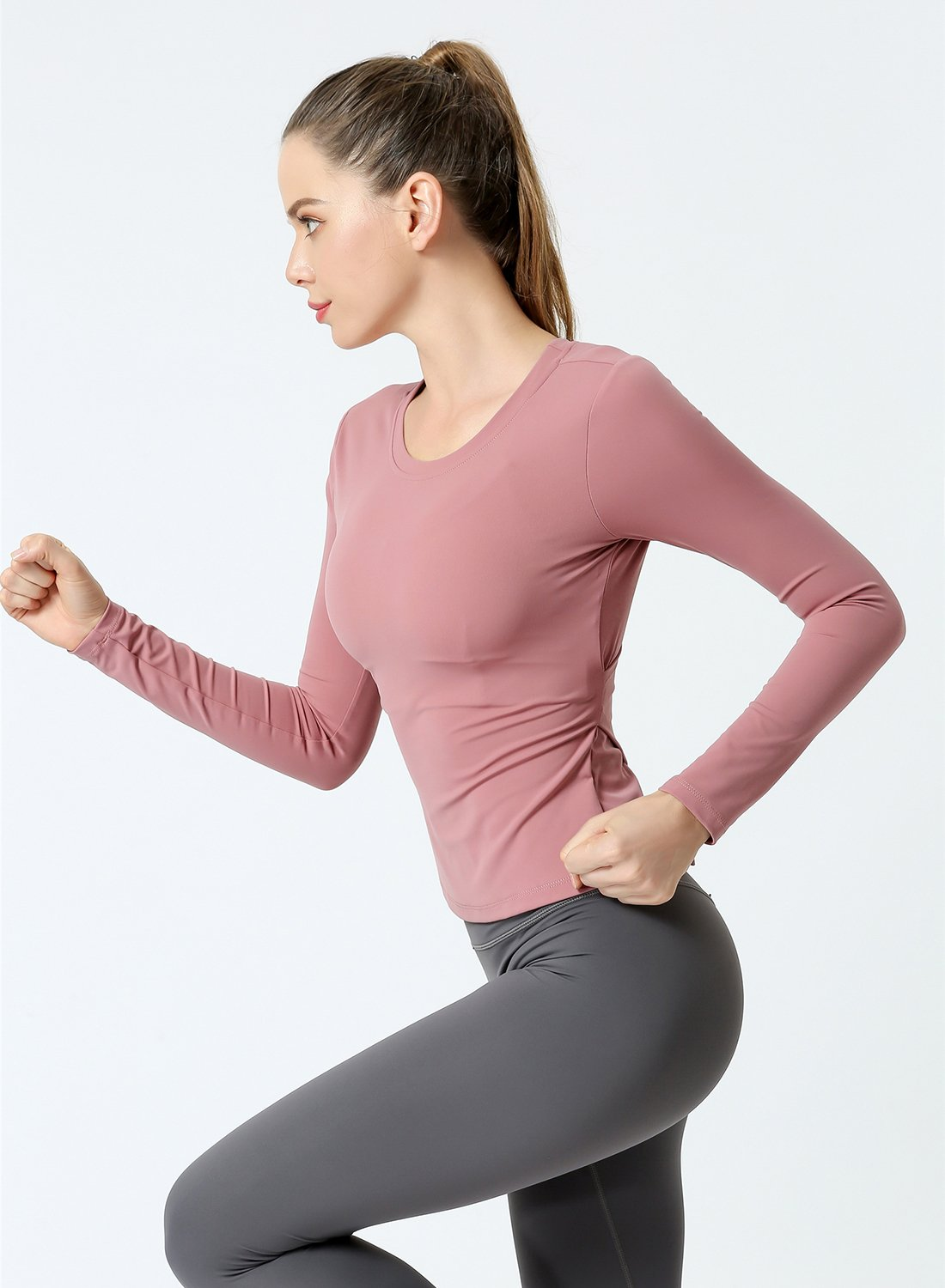 Fashion Women Yoga Pilates Shirts