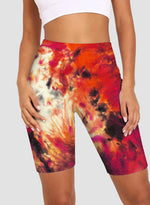 Load image into Gallery viewer, Women Fashion Style Tie Dyed Bike Shorts