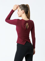 Load image into Gallery viewer, Fashion Women Yoga Pilates Shirts