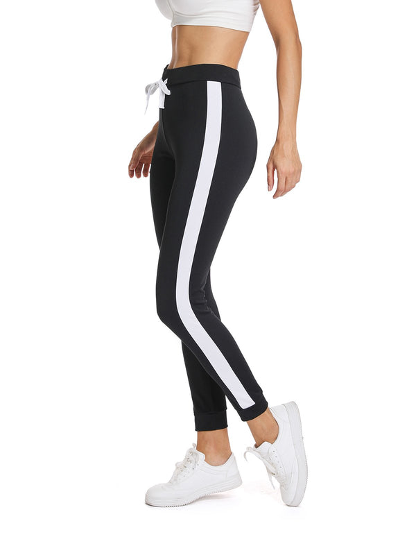 Women's Tie Belt Soft Workout Yoga Pants-JustFittoo